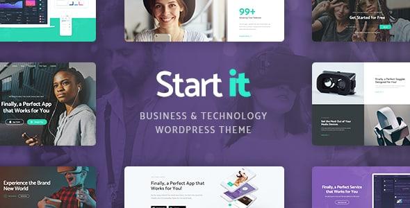 Tema Start it - Template WordPress