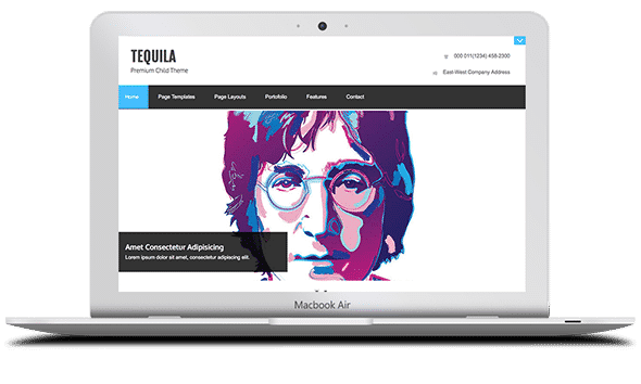 Tema Tequila - Template WordPress