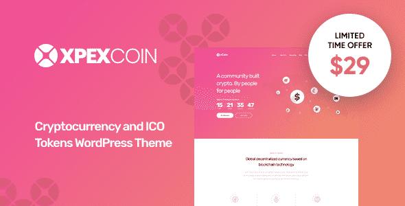 Tema XPEXCoin - Template WordPress