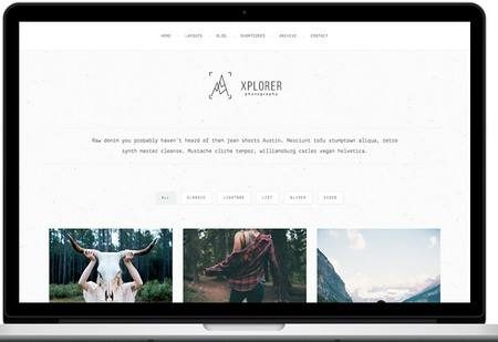 Tema Xplorer - Template WordPress