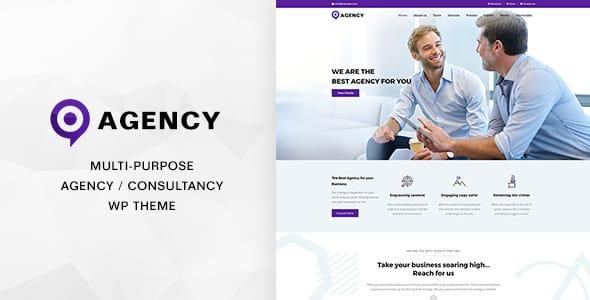 Tema Agency DesignThemes - Template WordPress