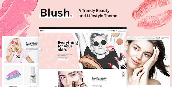 Tema Blush - Template WordPress