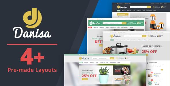 Tema Danisa - Template WordPress