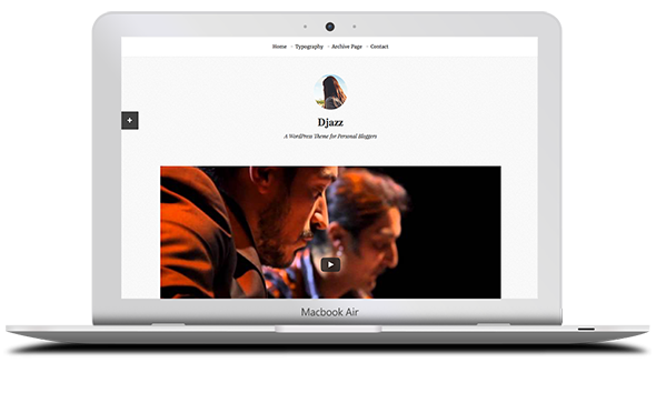 Tema Djazz - Template WordPress