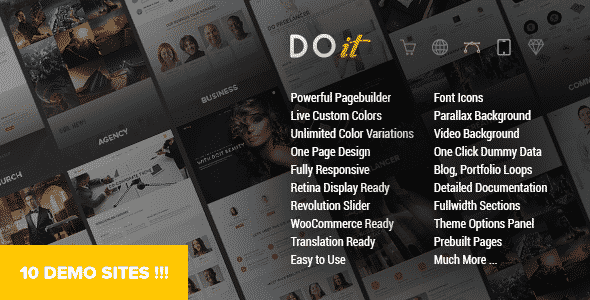 Tema DoIt - Template WordPress