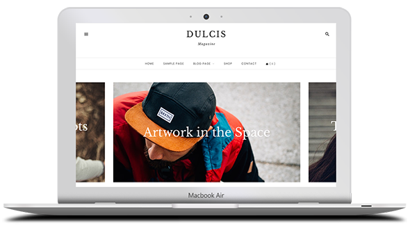 Tema Dulcis - Template WordPress