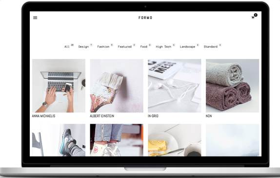 Tema Formo - Template WordPress