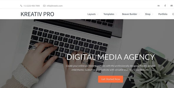 Tema Kreativ Pro - Template WordPress