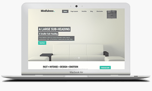 Tema Mindfullness - Template WordPress