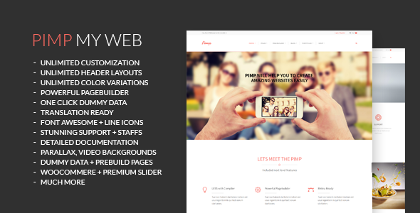 Tema Pimp - Template WordPress