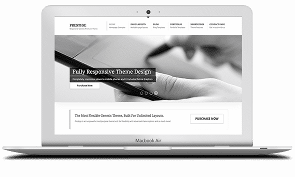 Tema Prestige - Template WordPress
