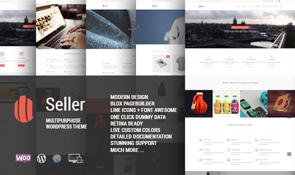 Tema Seller - Template WordPress