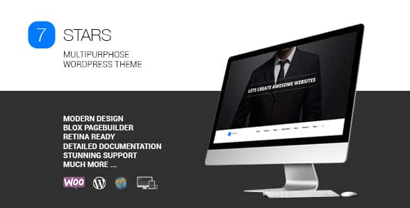 Tema Seven Stars - Template WordPress