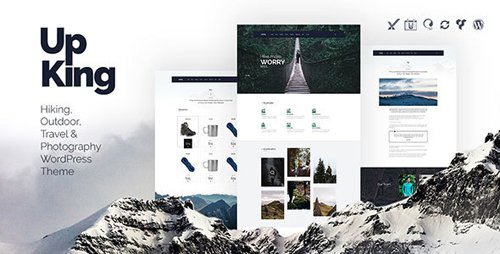 Tema Upking - Template WordPress