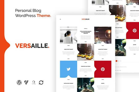 Tema Versaille - Template WordPress