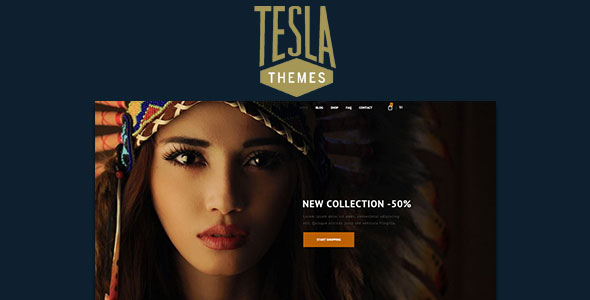 Tema Bishop TeslaThemes - Template WordPress