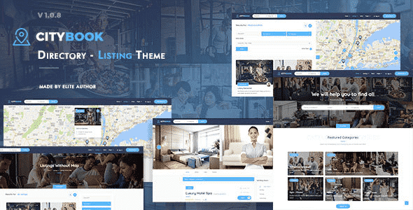 Tema Citybook - Template WordPress
