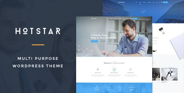 Tema Hotstar - Template WordPress