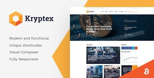 Tema Kryptex - Template WordPress