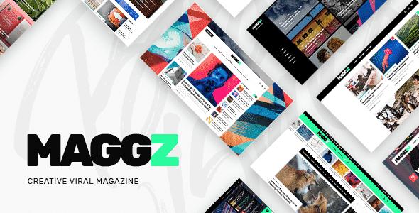 Tema Maggz - Template WordPress