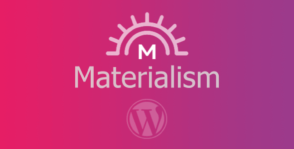 Tema Materialism - Template WordPress