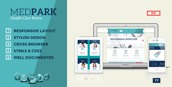 Tema MedPark - Template WordPress