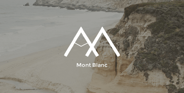 Tema MontBlanc - Template WordPress