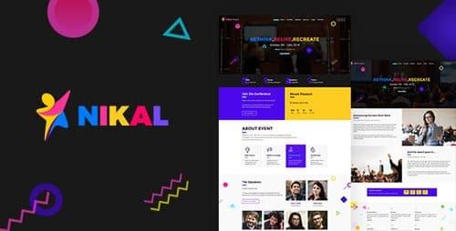Tema Nikal - Template WordPress