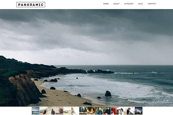Tema Panoramic - Template WordPress