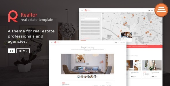 Tema Realtor TeslaThemes - Template WordPress
