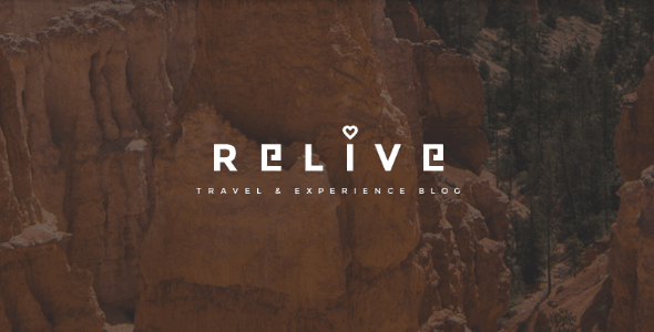 Tema Relive - Template WordPress