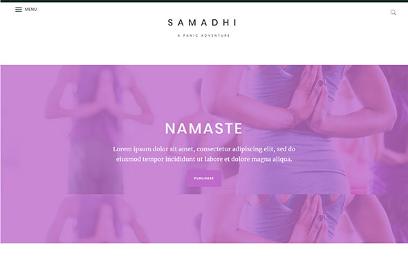Tema Samadhi - Template WordPress