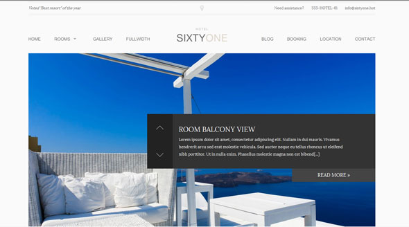 Tema SixtyOne - Template WordPress