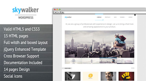 Tema Skywalker - Template WordPress