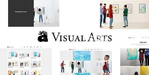 Tema Visual Arts - Template WordPress