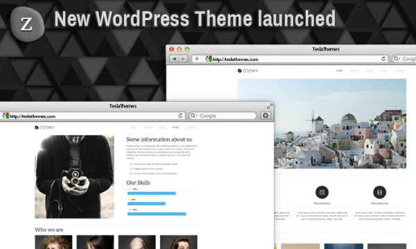Tema Zoomy - Template WordPress