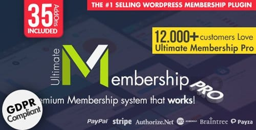 Plugin Ultimate Membership Pro - Plugin WordPress