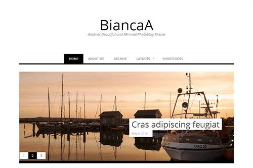 Tema BiancaA - Template WordPress