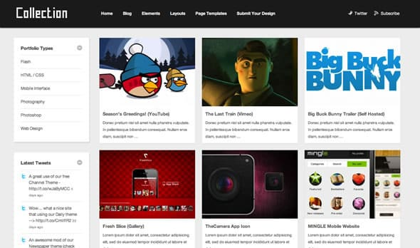Tema Collection - Template WordPress