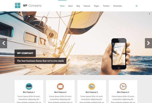 Tema Company - Template WordPress