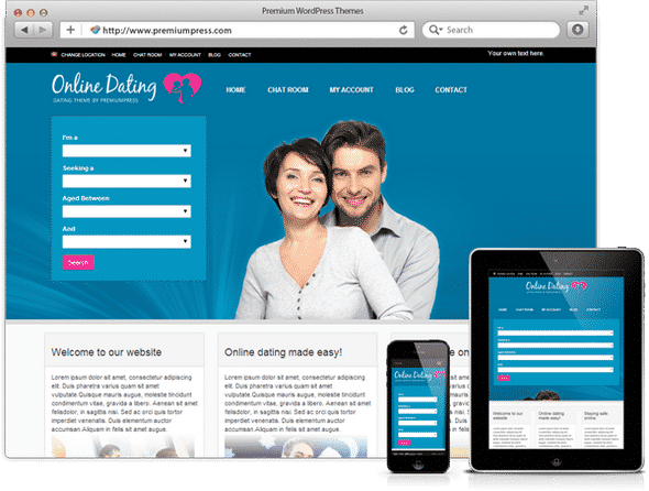 Tema Dating PremiumPress - Template WordPress
