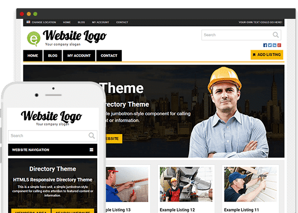 Tema Directory PremiumPress - Template WordPress