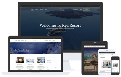 Tema Kea - Template WordPress