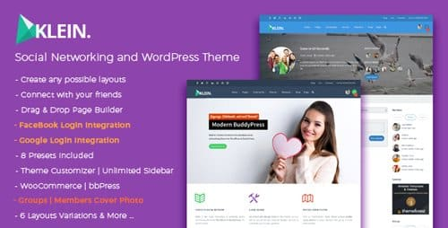 Tema Klein - Template WordPress