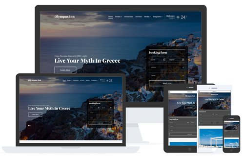 Tema Olympus Inn - Template WordPress