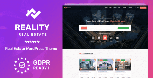 Tema Reality - Template WordPress
