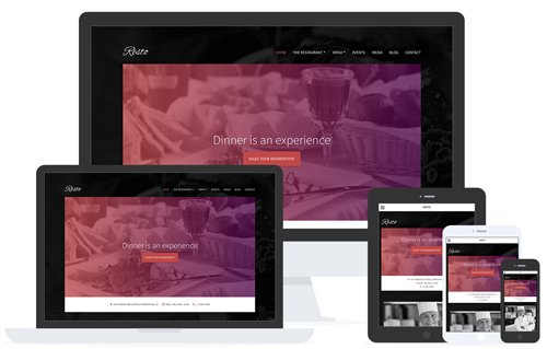 Tema Resto - Template WordPress