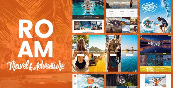 Tema Roam - Template WordPress