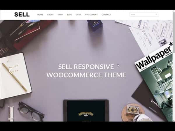 Tema Sell - Template WordPress
