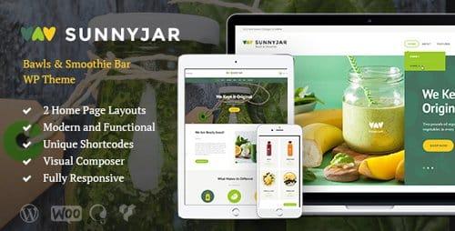 Tema SunnyJar - Template WordPress